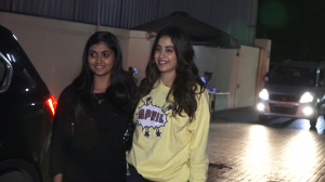 Janhvi Kapoor keeps it chic and stylish as she attends Bhoot Part One: The Haunted Ship special screening