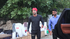 Ranbir Kapoor gets spotted ahead his football match in the city