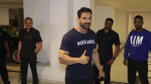 Pagalpanti actor John Abraham slays his casual look as he gets spotted in the city