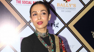 Malaika Arora and Dia Mirza look stunning in traditional as they attend an awards show