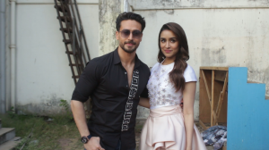 Baaghi 3 co stars Shraddha Kapoor and Tiger Shroff keep it stylish as they promote the film on a reality show