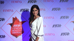 Katrina Kaif looks ethereal in white at the Femina Beauty Awards 2020