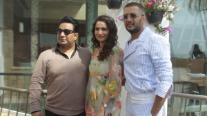 Baaghi 3 squad Ankita Lokhande, Riteish Deshmukh and Ahmed Khan promote their movie in style