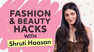 Shruti Haasan REVEALS her fashion and beauty hacks she swears by