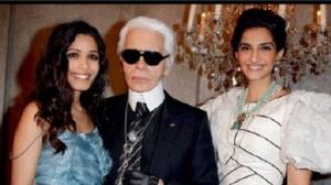 Sonam Kapoor pays her heartfelt tribute to Karl Lagerfeld through her latest post
