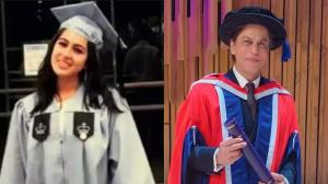 Sara Ali Khan to Shah Rukh Khan :Get to know the degrees THESE Bollywood actors have