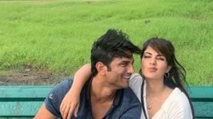 Sushant Singh Rajput and Rhea Chakraborty's THESE moments are all things love; Check it out