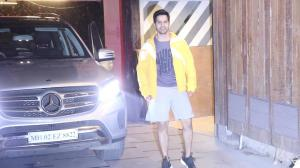 Varun Dhawan, Swara Bhaskar and Vatsal Sheth gets spotted outside the gym
