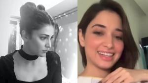 Tamannaah Bhatia and Shruti Haasan spend quarantine taking up music lessons and reminiscing memories