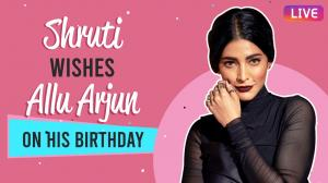 Shruti Haasan on Allu Arjun, Kamal Haasan, learning to stay alone, being judged for being vocal