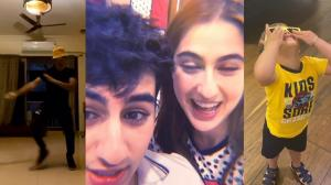 Sara Ali Khan, Ibrahim Ali Khan and Roohi Johar, Yash Johar's fun sibling banter amid lockdown is unmissable