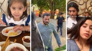 Salman Khan, Khushi Kapoor styling sister Janhvi's hair and Yash and Roohi Johar's fun banter amid lockdown