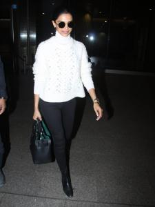 Deepika Padukone Perfect airport looks that gave us major fashion goals. See Pics