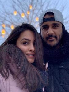 PHOTOS: Anita Hassanandani and her husband Rohit Reddy fired up our screens several times; Check it out