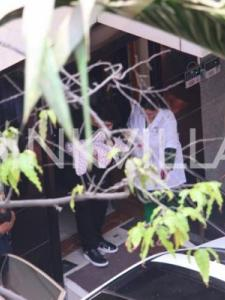 First Photos: Karan Johar takes twins Yash and Roohi home