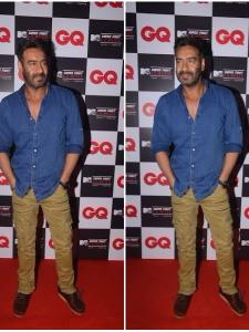 Ajay Devgn clicked at the launch of MTV Super Fight League