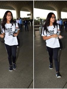 Nysa Devgn snapped at the airport