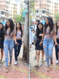 Nysa Devgn steps out with her friends