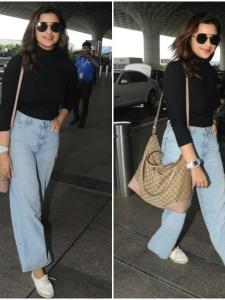 Parineeti Chopra makes a stylish appearance at the airport