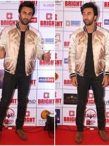 Ranbir Kapoor attends an event in style