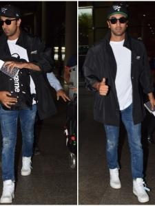 Ranbir Kapoor looks happy to be back in the city