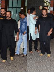 Salman Khan looks dapper in an all-black outfit