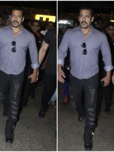 Salman Khan returns to the city with rumored GF Iulia Vantur