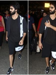 Shahid Kapoor keeps it stylish at the airport