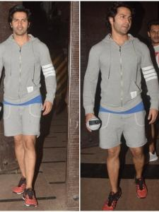 Varun Dhawan's gym style is on point in these pictures