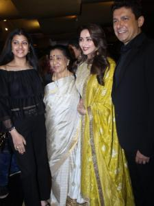 PHOTOS: Madhuri Dixit slays in a traditional attire as she attends an event
