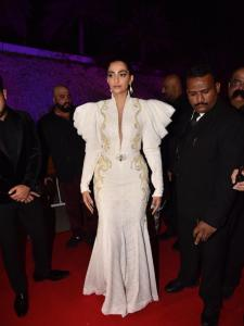 PHOTOS: Sonam Kapoor steals the show in a stylish white outfit at an event
