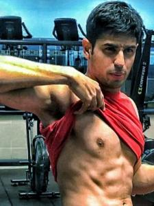 Jabariya Jodi actor Sidharth Malhotra is setting the temperature high with his shirtless pics; Check it out