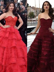 PHOTOS: 7 Times Aishwarya Rai Bachchan donned strapless outfits and made jaws drop