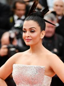 Aishwarya Rai Bachchan: When the actress' innovative hairdo at Cannes 2018 left fans amused; See PHOTOS