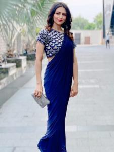 PHOTOS: Divyanka Tripathi pulls off her saree looks with sheer elegance; Check it out