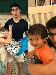 Happy Birthday Ibrahim Ali Khan: Photos that prove he is one of the fun brothers in Bollywood