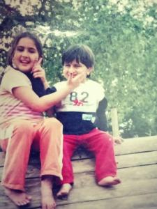 Ibrahim Ali Khan's childhood photos are too cute to handle; Check out
