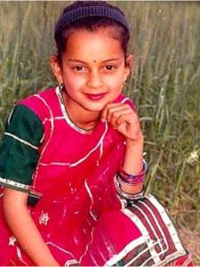 Kangana Ranaut Birthday Special: Check out these CHILDHOOD photos of the Thalaivi actress