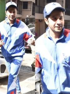 PHOTOS: Varun Dhawan keeps it cool and casual as he gets papped in the city