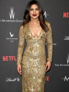 Priyanka Chopra Jonas and her love for sequin outfits is evident in her red carpet looks; See PHOTOS