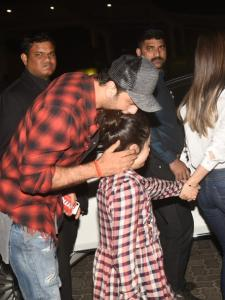 PHOTOS: Ranbir Kapoor's precious moments with his niece Samara Sahni are too cute to miss; Check it out