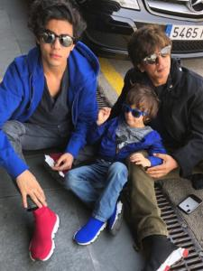 Shah Rukh Khan shares an amazing bond with his kids Aryan, Suhana and AbRam Khan and these pictures are proof