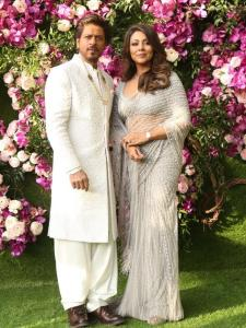 Shah Rukh Khan and Gauri Khan's interesting quotes about each other