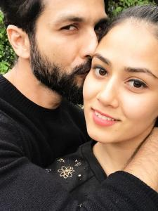 PHOTOS: Shahid Kapoor and Mira Rajput prove love is in the air always; Check it out