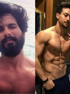 Shahid Kapoor to Tiger Shroff, check out shirtless selfies of Bollywood actors which raised the temperature