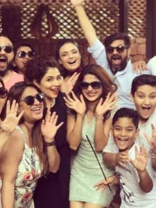 Jennifer Winget: PHOTOS of the actor with her BFFs prove she likes to 'work hard and party harder'