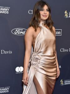When Priyanka Chopra Jonas made jaws drop with her satin gown at the pre Grammys 2020 red carpet