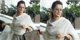 Kangana Ranaut styles her desi airport look with ultra expensive apparel; Check it out
