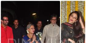 Big B, Jaya, Tabu & others attend Ronit Roy's bday!