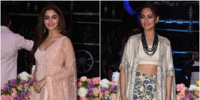 Alia Bhatt in Anita Dongre and Sonakshi Sinha in Anamika Khanna : Yay or Nay?